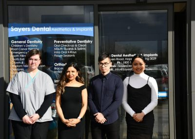 Sayers Dental Aesthetics and Implants Team Photo 2